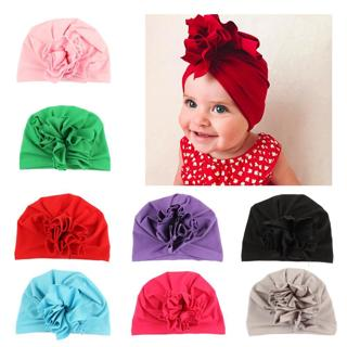 Fashion a cap for a boy 10 color baby hat Bow tie baby Turban a headscarf for a girl Elastic caps