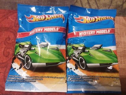 Lot of 2 Hot Wheels Mystery Models 2011 (Blind Bags)