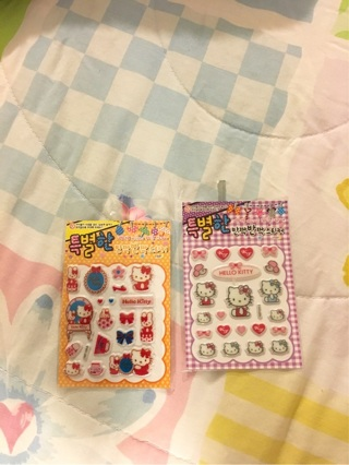Soft/sparkly cute stickers!