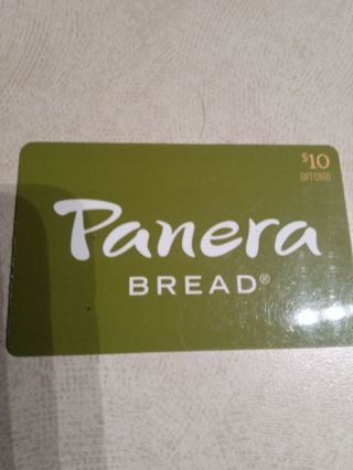 Panera bread gift card $10.00