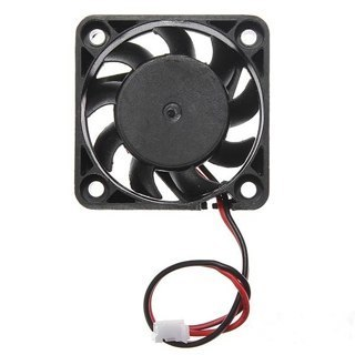 1 NEW DC 12V 2 Pin 40mm Portable Cooler Small PC CPU Cooling Fan Cooler Computer Accessories Black