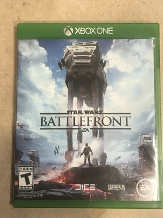 Xbox one game Star Wars battlefront