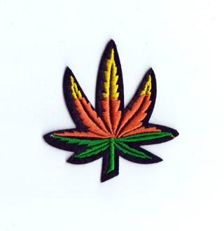 ❁ Pot Leaf Iron-On Patch/Applique ❁