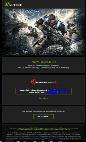 Free: Gears of War 4 BUNDLE CD Key PREORDER-Xbox-PC-2016