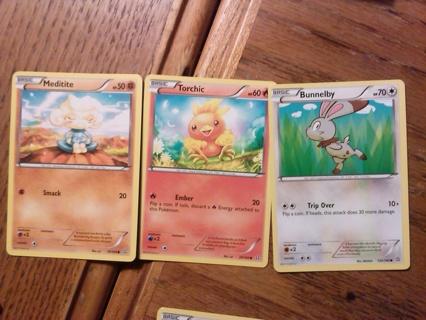 3 Primal Clash Pokemon Cards