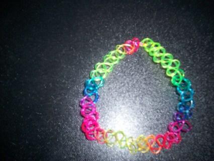 NEW Rainbow Tatoo Necklace #716