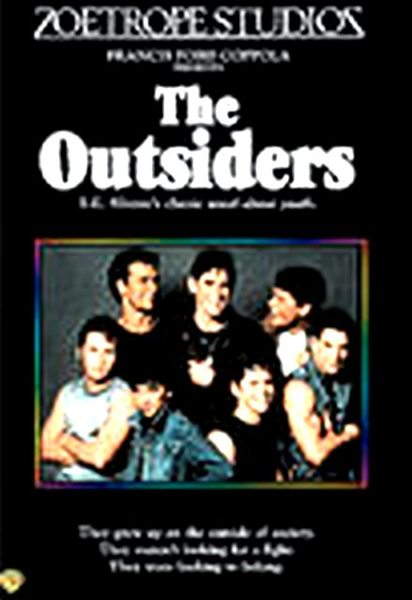 a review of the film the outsiders Film reviews december 31, 1982 11:00pm pt the outsiders francis coppola has made a well acted and crafted but highly conventional film out of se hinton's popular youth novel, the outsiders although set in the mid-1960s, pic feels very much like a 1950s drama about problem kids.