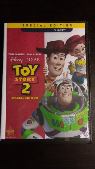 ⭐⭐Disney & Pixar's Toy Story 2 Blu-Ray Disc Only Special Edition Brand New⭐⭐