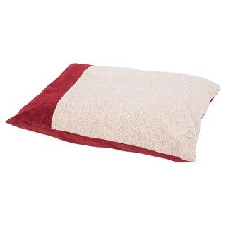 Aspen Pet Self Warming Knife Edge Pillow Bed - Barn Red