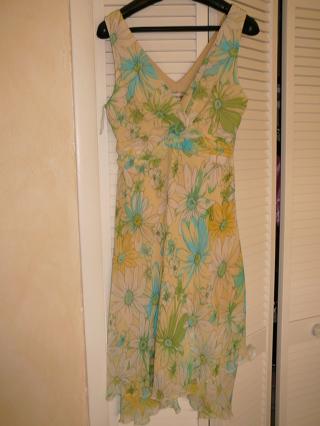 Karin Stevens 10P Tiered Swing Dress