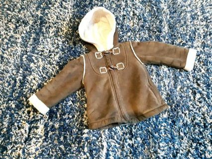 OLD NAVY Chocolate Brown Jacket Boys Size 3T