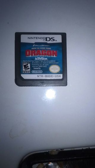 Ds game how to train your dragon