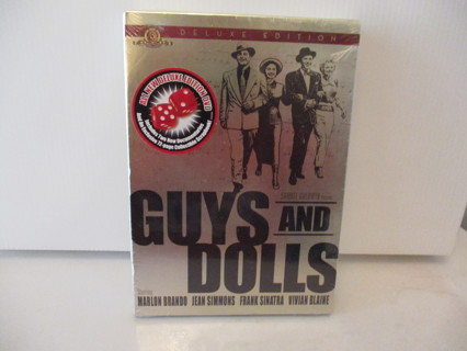 NEW ! GUYS AND DOLLS DELUXE EDITION DVD