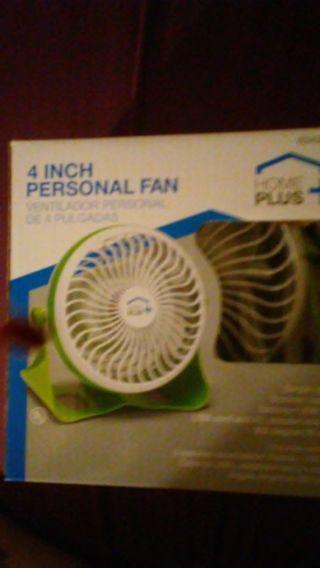 """Home Plus 4"""" Personal Fan"""