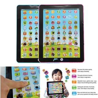 Kids Learning English Tablet Teach Pad Educational Toy Fun Gift For Girl/Boy B TL