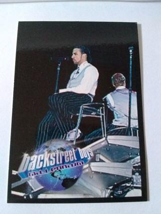 Backstreet Boys Trading Card Sticker