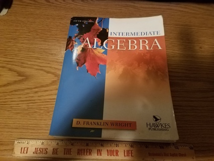 Intermediate Algebra 5th Ed - NO CD