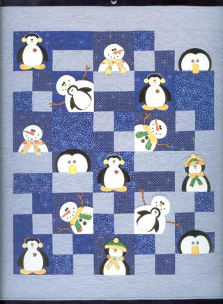 Free Frosty Friends Quilt Pattern Sewing Listia Com
