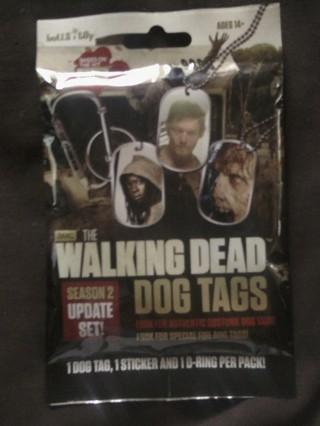 """Walking Dead """"Dog Tags"""""""