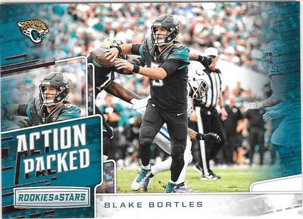 2018 Rookies and Stars Action Packed - Blake Bortles