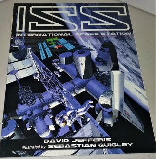 "2002 ""ISS International Space Station"" 48 pages including 8-page gate-fold - size 8 1/2"" x 11"""