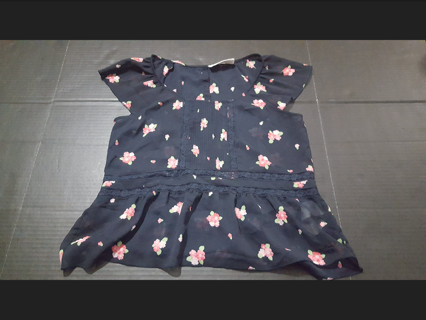 Abercrombie & Fitch Women's Size Small Sheer Floral Top! Great Condition!
