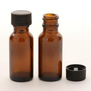 15 ML BROWN GLASS BOTTLES - TIERED AUCTION