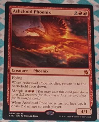 MTG Ashcloud Phoenix - Mythic Rare 099/269 Khans of Tarkir  (KTK) Magic the Gathering (2014)