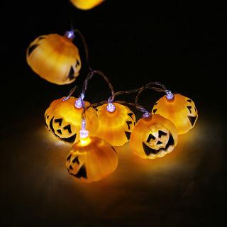 Halloween Pumpkin String Lights