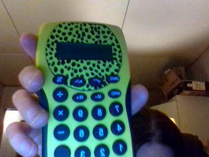 Cute calculator