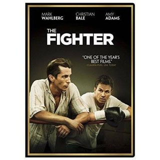 dvd-the fighter-mark wahlberg-christian bale-2010-used-ex