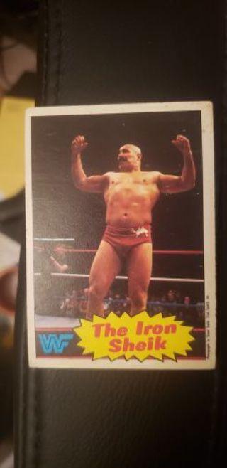 WWF Wrestling Stars. The Iron Sheik 1985 #2