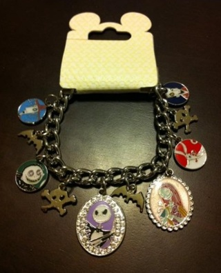 Free Nightmare Before Christmas Charm Bracelet And Disney Pins From Disneyland