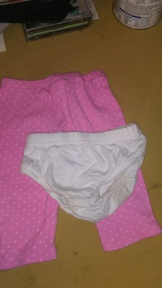 Pantsand a diaper cover