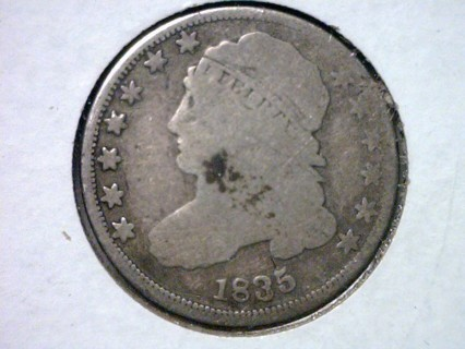 ★★★ Rare 1835 Capped Bust Dime Silver Coin ★★★