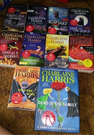 True Blood - Sookie Stackhouse Books - First 10 Books