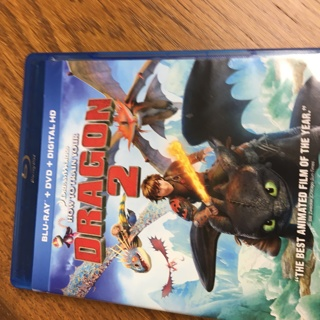 How to Tame a Dragon 2 Blu-ray