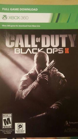 black ops 2 download code