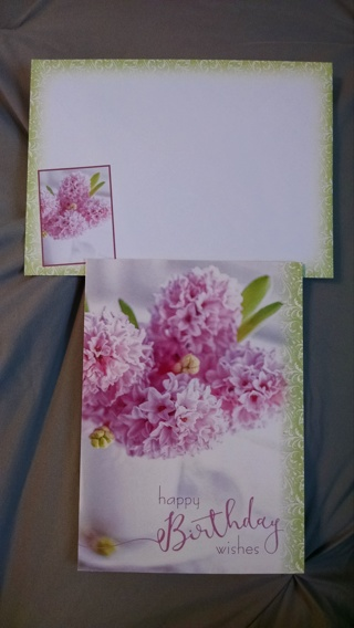 Cute Birthday Card with Envelope -- New!!