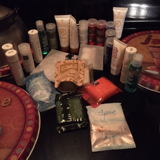 Lot of travel size products new never used