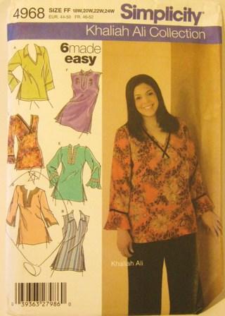 Free Khaliah Ali Collection Plus Size Sewing Pattern Womens