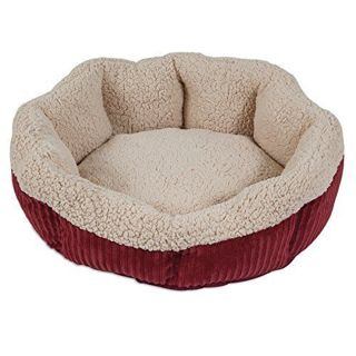 Petmate Aspen Pet Self Warming Cat And Dog Bed, 19 Inch Round