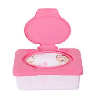 Press Baby Tissue Case Wipes Box Tissue Box Plastic