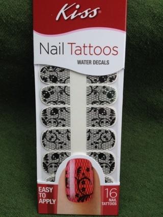 Kiss Nail Tattoos Water Decals
