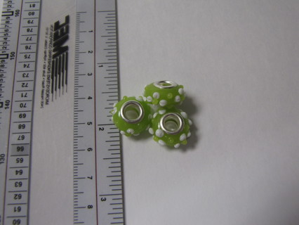3 GORGEOUS Pandora Like Beads - PLUS a surprise gift just for you! - 5 DAY AUCTION!!