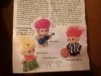 Free  Knitted Troll Togs Pattern - Knitting - Listia.com Auctions ... 9b4a5b0a5aa