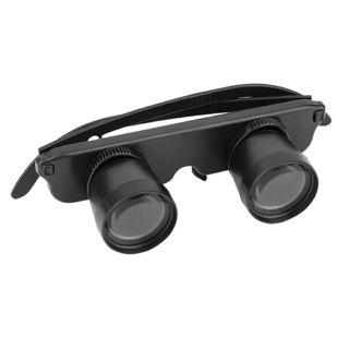 3X28 Double Eye Glasses Style Outdoor Fishing Binocular Optics Glasses Fishing Binocular Magnifier