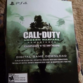 Call of Duty: Modern Warfare Remastered - PS4 [Digital Code] READ DESCRIPTION!