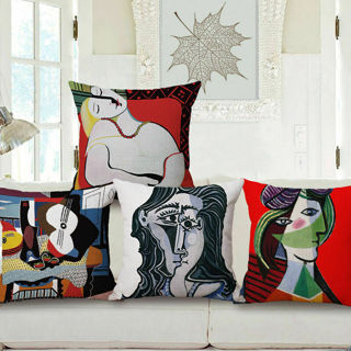 Picasso Abstract Paintings Decorative Throw Pillow Case Cushion Cover 18''x18''