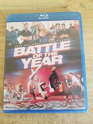 BATTLE OF THE YEAR.BRAND NEW BLURAY.FREE SHIPPING.BUY DVD/BLURAY GET SECOND ONE FREE.